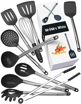5. Kitchen Utensil Set - 10 Cooking Utensils