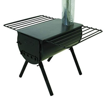 3. Camp Chef Alpine CS14 Heavy Duty Cylinder Tent Cabin Stove