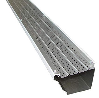 4. FlexxPoint 30 Year Gutter Cover System, White Commercial 6