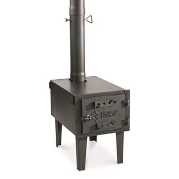 1. Guide Gear Outdoor wood stove