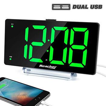 6. K-star Large Alarm Clock 9