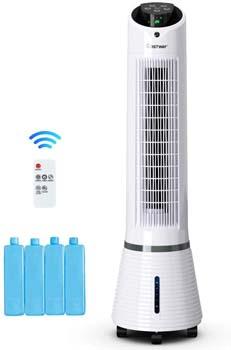 8: COSTWAY Evaporative Cooler- Oscillating Air Cooler