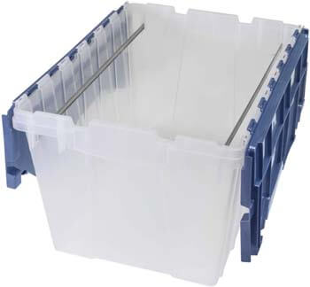 7. Akro-Mils 66486 FILEB 12-Gallon Plastic Storage Hanging File Box