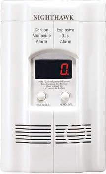 5. Kidde AC Plug-in Carbon Monoxide and Explosive Gas Detector Alarm