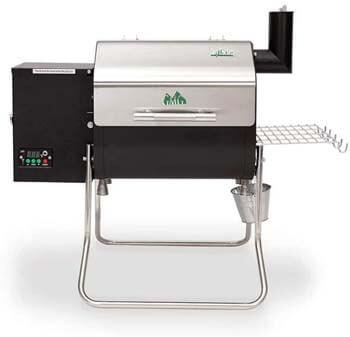 3. Green Mountain Davy Crockett WI-Fi Control Portable Wood Pellet Grill