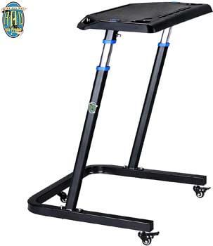 10. RAD Cycle products Adjustable Bike Trainer Fitness Desk Portable Workstation Standing Desk