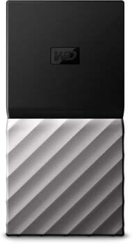 6. WD 2TB My Passport SSD External Portable Drive, USB 3.1, Up to 540 MB/s