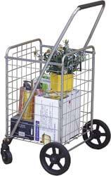 1. Wellmax WM99024S Grocery Utility Shopping Cart