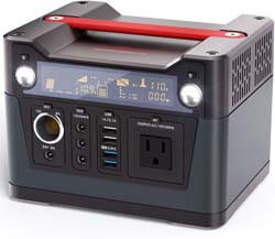 10. ROCKPALS 300W Portable Power Station