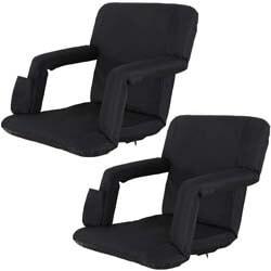 4. Oteymart Set of 2 Portable Stadium Seat