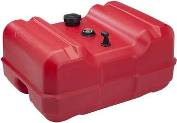 3. Attwood Portable Marine Fuel Tank - EPA and CARB Certified – Red