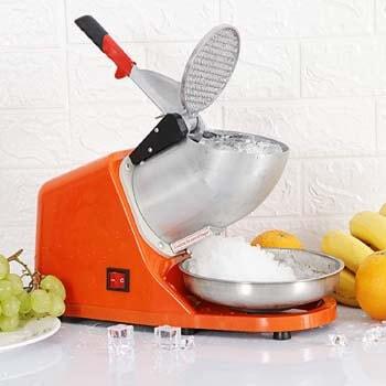 6. Smartxchoices Electric Ice Shaver Machine Ice Snow Cone Maker