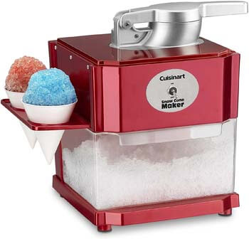 5. Cuisinart Snow Cone Maker, One Size, Red