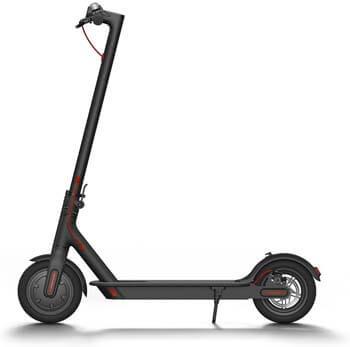10. Xiaomi Mi Electric Scooter, 18.6 Miles Long-range Battery