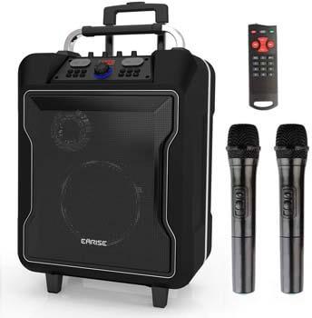 4. EARISE M60 Portable PA System Bluetooth Loudspeaker