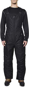 10. Arctic Quest Men's Insulated Water Resistant Ski Snow Bib Pants