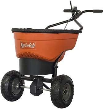 5. Agri-Fab 45-0548 130 lb. Commercial Push Spreader, Orange/Black