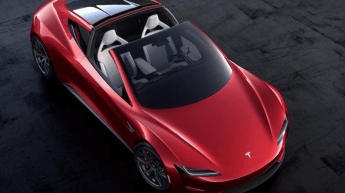 Compare EVs 2020 Tesla Roadster Supercar EV