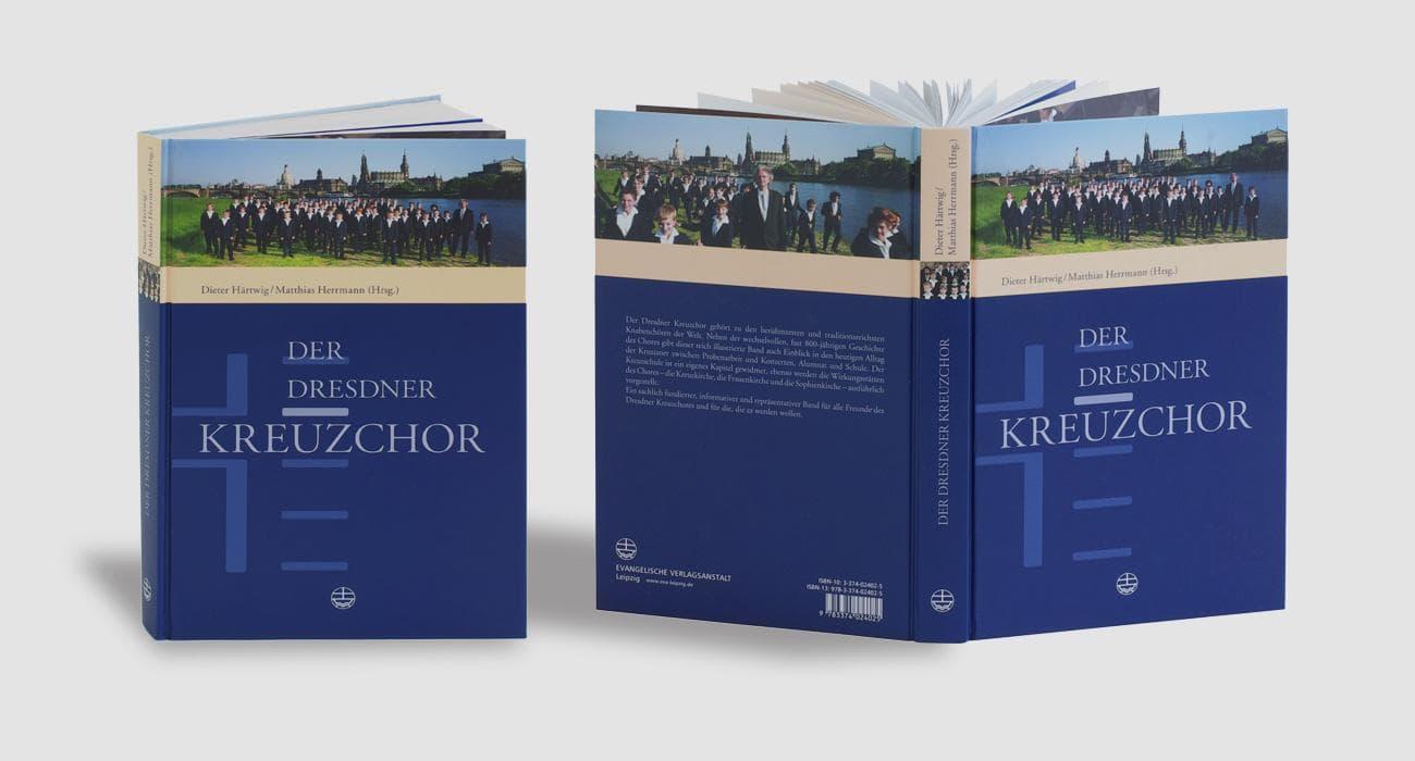 Ansichten zum Umschlag Der Dresdner Kreuzchor