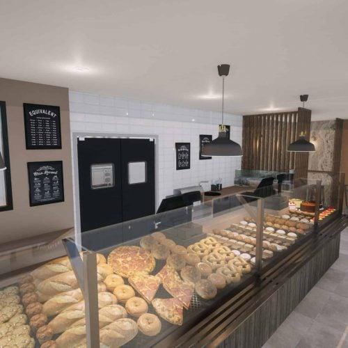, Projet boulangerie Nanterre