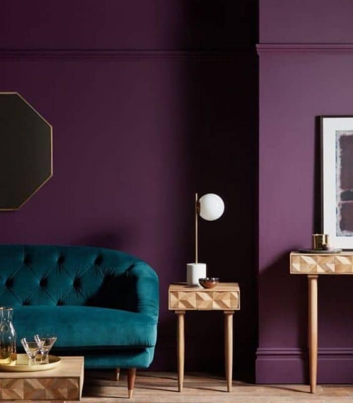 Peinture salon, Peinture salon : 15 couleurs tendance sur lesquelles miser en 2021 !