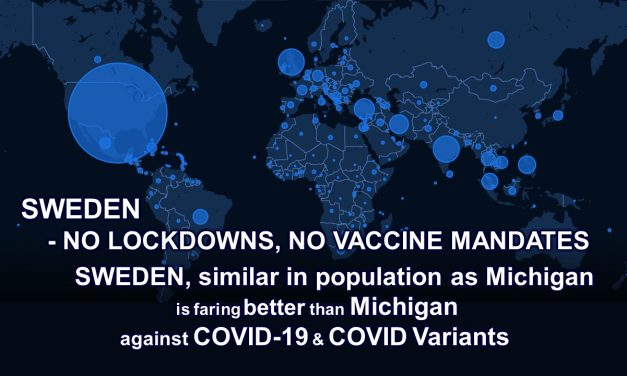 SWEDEN – NO LOCKDOWNS, NO VACCINE MANDATES and faring well against COVID.