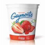 Yogurt de fresa