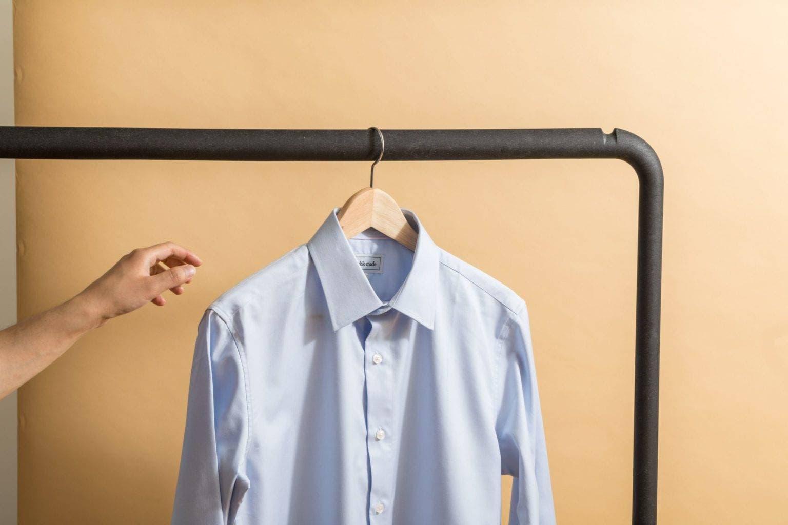 Textilreinigung-Hemd