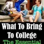 Is someone leaving the nest and heading off to college at your home? Print out this Essential College Packing List before they leave. It will help with both your packing and shopping organization.