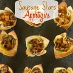 Celebrate your special occassion with this easy Sausage Stars Appetizers recipe.