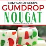 Add a sweeter twist to your Christmas cookie tray this year. Make a batch of this delicious Christmas Gumdrop Nougat to share with friends and family during the holidays. This easy candy recipe is a real treat.
