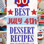 This red, white and blue Star-Spangled Brownie Pizza is perfect for any 4th of Juoly or patriotic celebration. Bring this easy patriotic recipe to your July 4th picnic. Also be sure to check out these best 4th of July dessert recipes for your party. These summer dessert recipes are delicious!