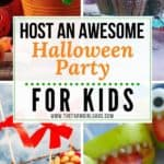 Host An Awesome Halloween Party For Your Kids. From cute Halloween treats for fun Halloween craft projects, these kids Halloween party tips will help you plan the ultimate ghoulish Halloween party for your kids. #halloweenparty #halloweentreats #halloweencrafts