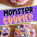 Are you wanting to make something extra special this Halloween? Give these Halloween Monster Sprinkle Cookies a try! Making Halloween Monster Sprinkle Cookies is easier than you might think. With only 30 minutes of preparation and 10 minutes of baking time, you can have these easy Halloween cookies ready for your loved ones in less than an hour.