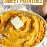 Save room on your plate for this Savory Mashed Sweet Potatoes recipe. This is an easy sweet potato recipe for Thanksgiving. If you love sweet potatoes, your family will love this easy mashed potato recipe.