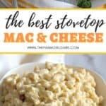 cheesy homemade macaroni and cheese recipe!