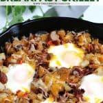 Easy Breakfast skillet Casserole pin