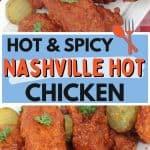 Nashville Hot chicken Pin