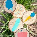 Decorate your garden using DIY Wood Slice Garden Markers with Cricut Joy. You can label your plants, including flowers, fruits, and vegetables using these homemade markers. This easy gardening craft will add beauty to your garden. This is a Cricut craft so you can use your Cricut Joy to finish.