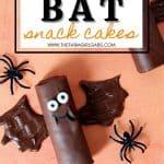 How To Make Halloween Bat Cakes