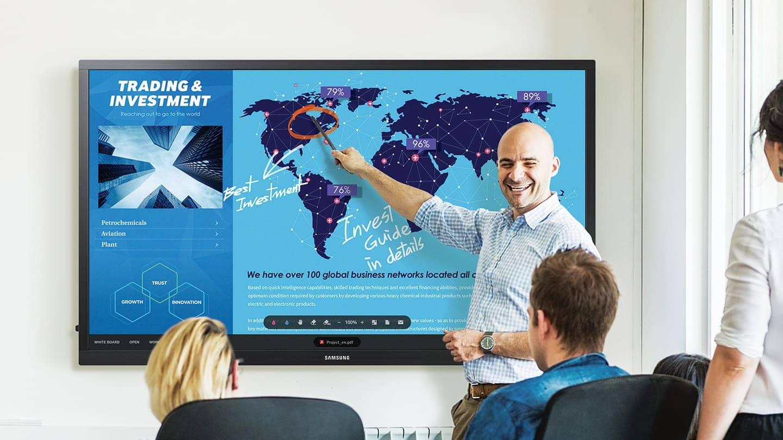 Интерактивная сенсорная доска Samsung