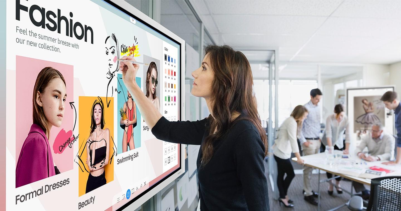 Интерактивный флипчарт Samsung Flip 2