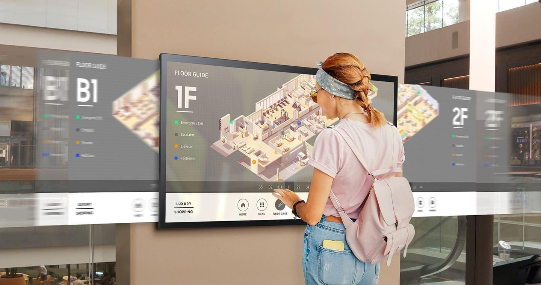 Интерактивные дисплеи Samsung QMR-T