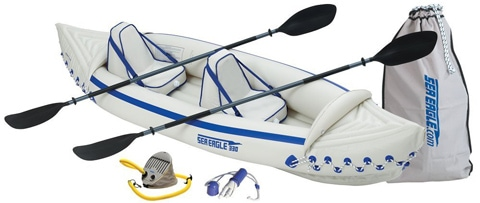 1. 330 Inflatable Kayak w/ Pro Package