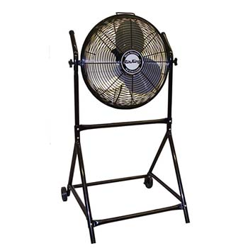 6. Air King 9219 18-Inch Stand with Fan