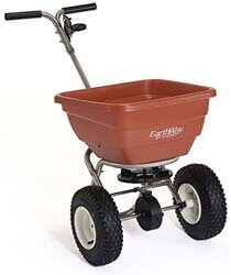 6. Earthway F80S Commercial Stainless Steel Adaptable Broadcast Spreader