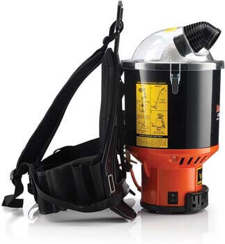 10. Hoover Commercial Lightweight Backpack Vacuum