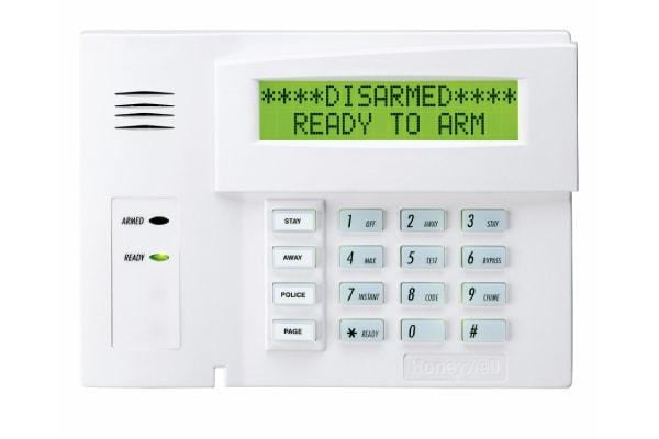 Burglar Alarm Keypad