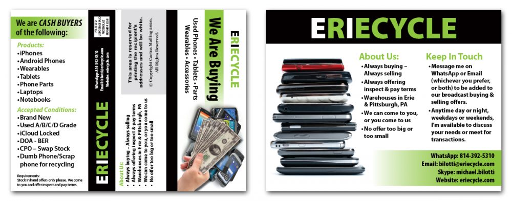 Recycling Brochure Marketing