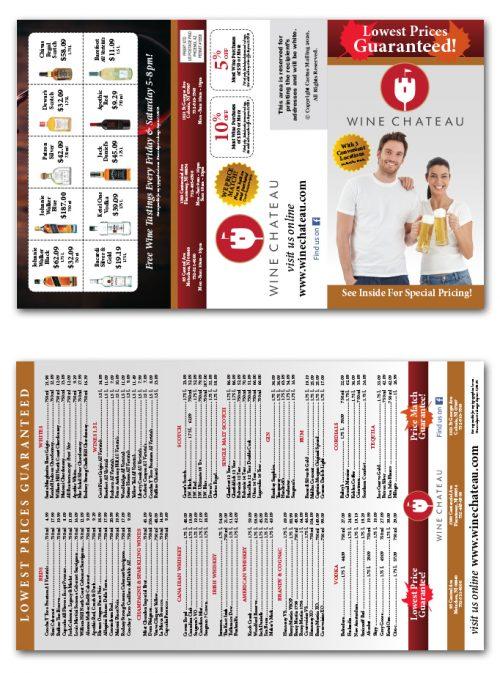 Liquor Store Brochure Marketing